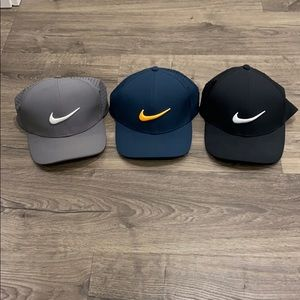 3 Nike Golf Hats